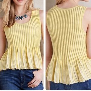 Anthropologie/Moth | Yellow Skirt Bottom Top G20